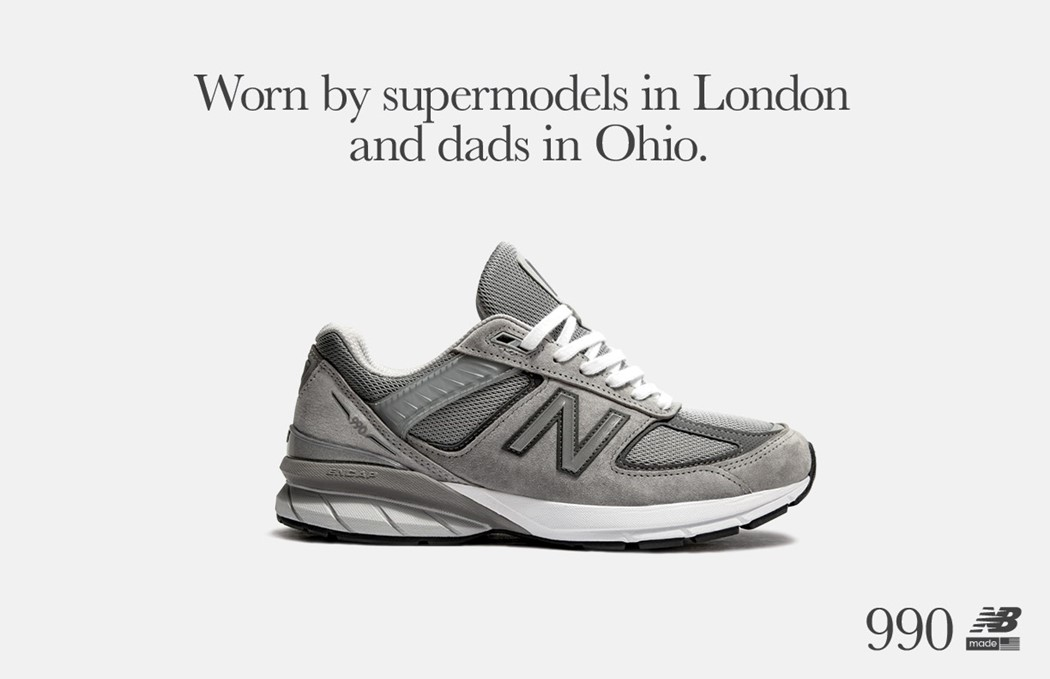 get cheap 5904f ce6f0 New Balance's new campaign pays homage to its OG dad shoe ...