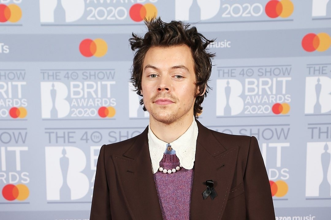 Harry Styles wore your year 3 school shoes to the Brits