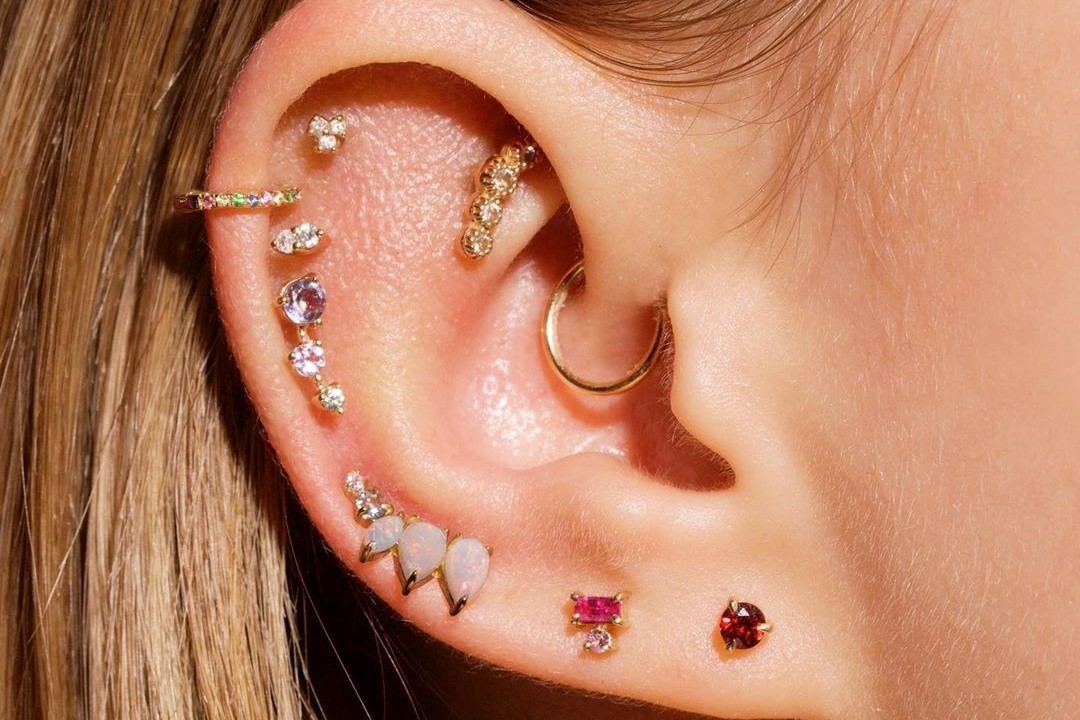 These Glossier-style Gen Z piercing studios are steering the earscape trend