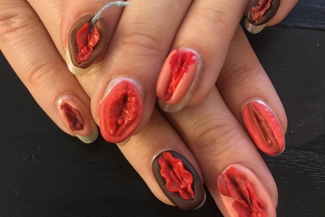 Nail artist Frédérique Olthuis is not taking things too seriously | Dazed Beauty