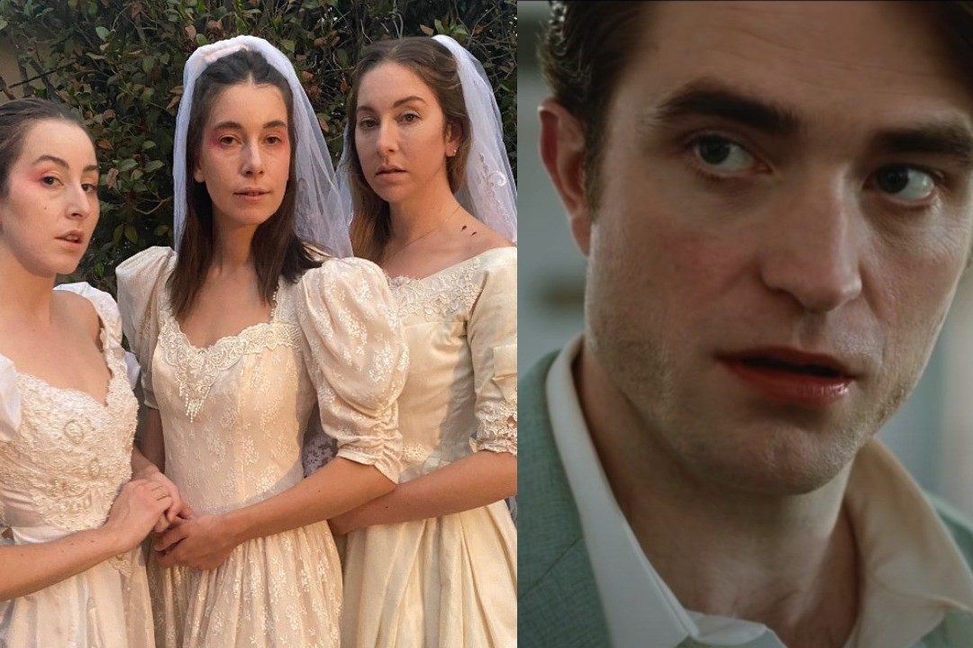 Robert Pattinson features in HAIM's new performance of '3am'