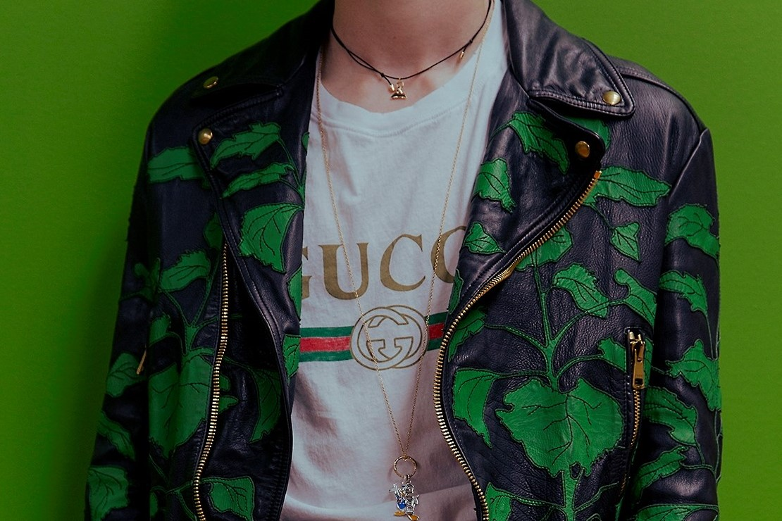 4194c844 Gucci's fake tees steal the show | Dazed