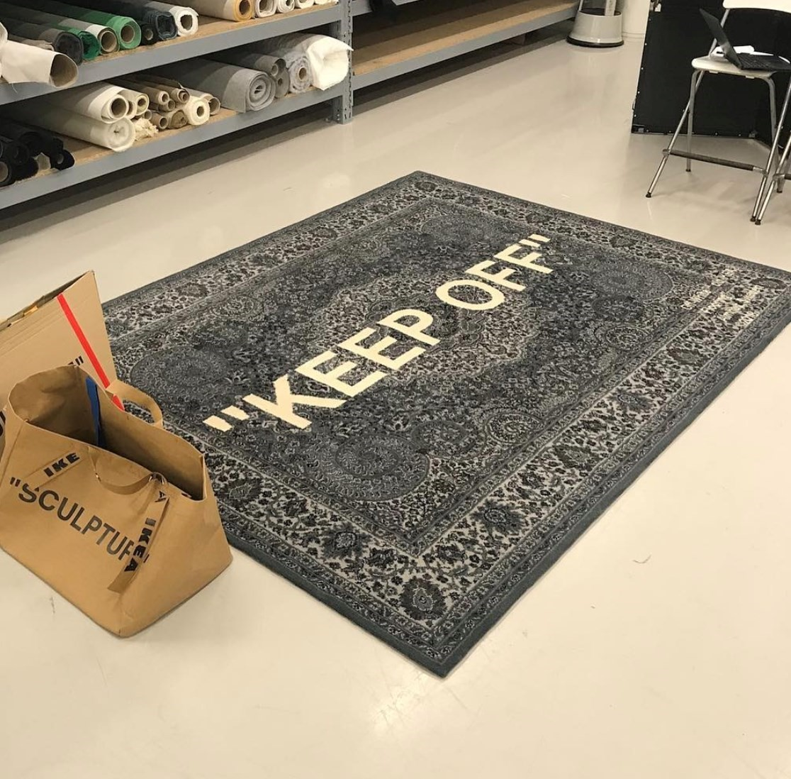 Virgil Abloh Teased His Ikea Collab At A Pop Up Store In Paris Dazed
