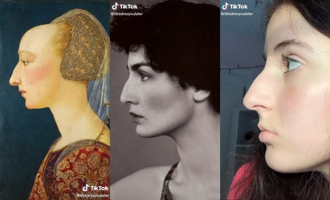 Tiktok Users Are Celebrating Their Natural Beauty Using Works Of Art Dazed Beauty