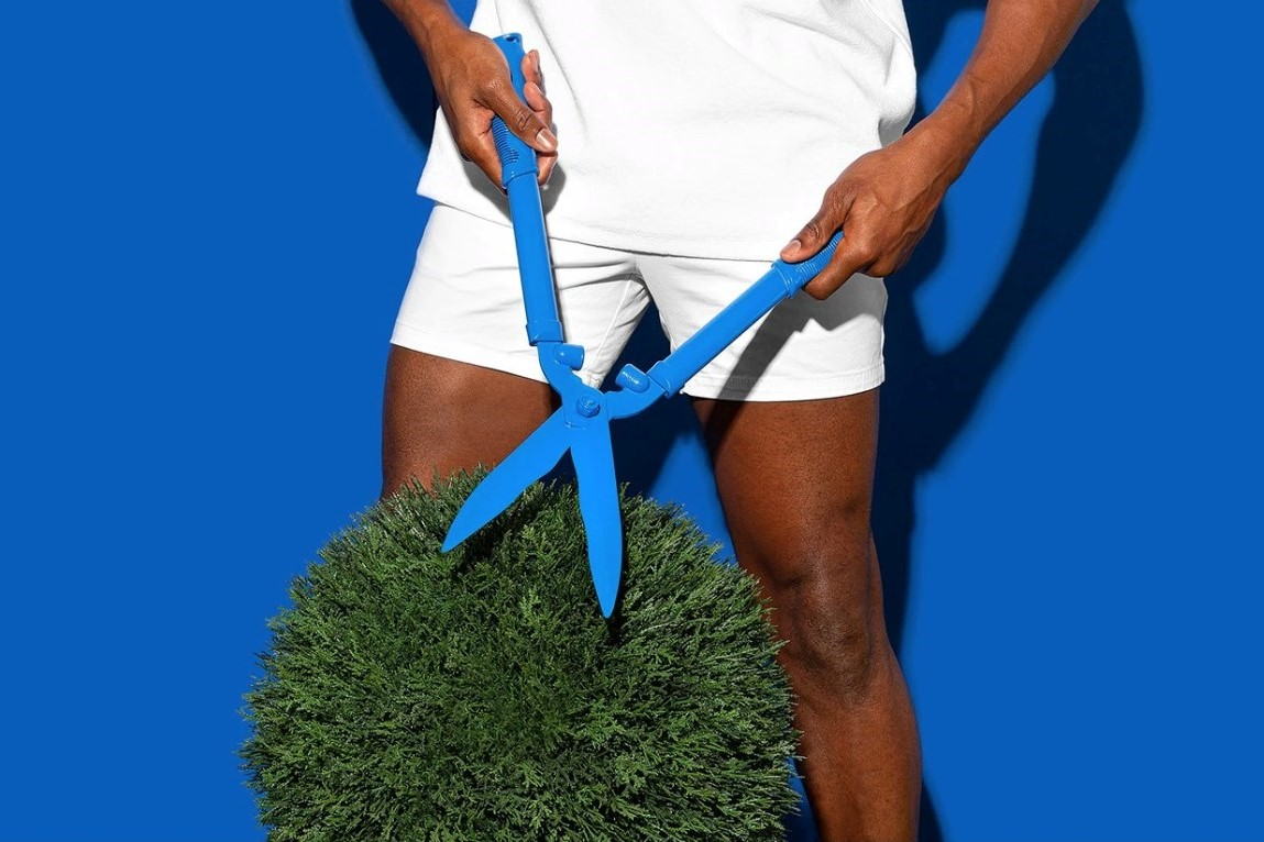I trimmed my balls – just for you