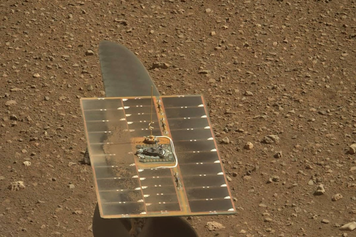 NASA says rock samples show alien life may have existed on Mars