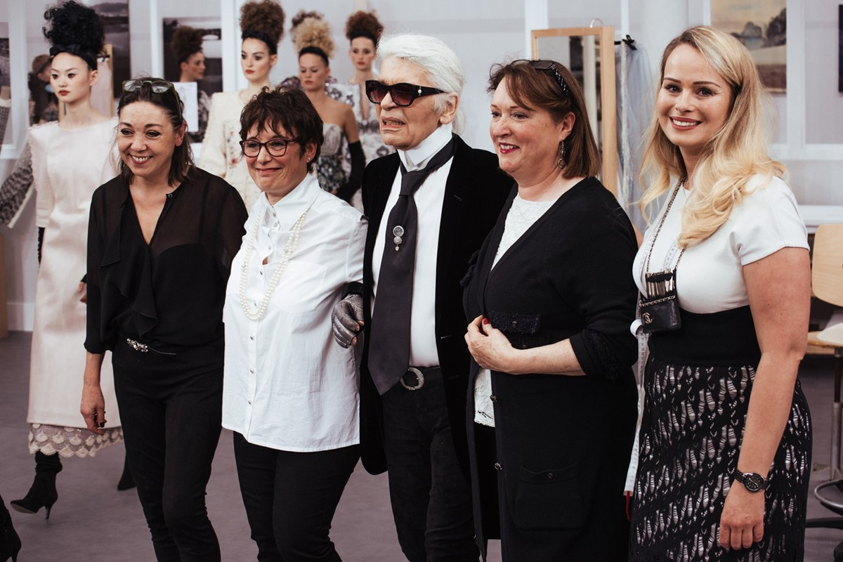 A Karl Lagerfeld memorial will be held in Paris next month