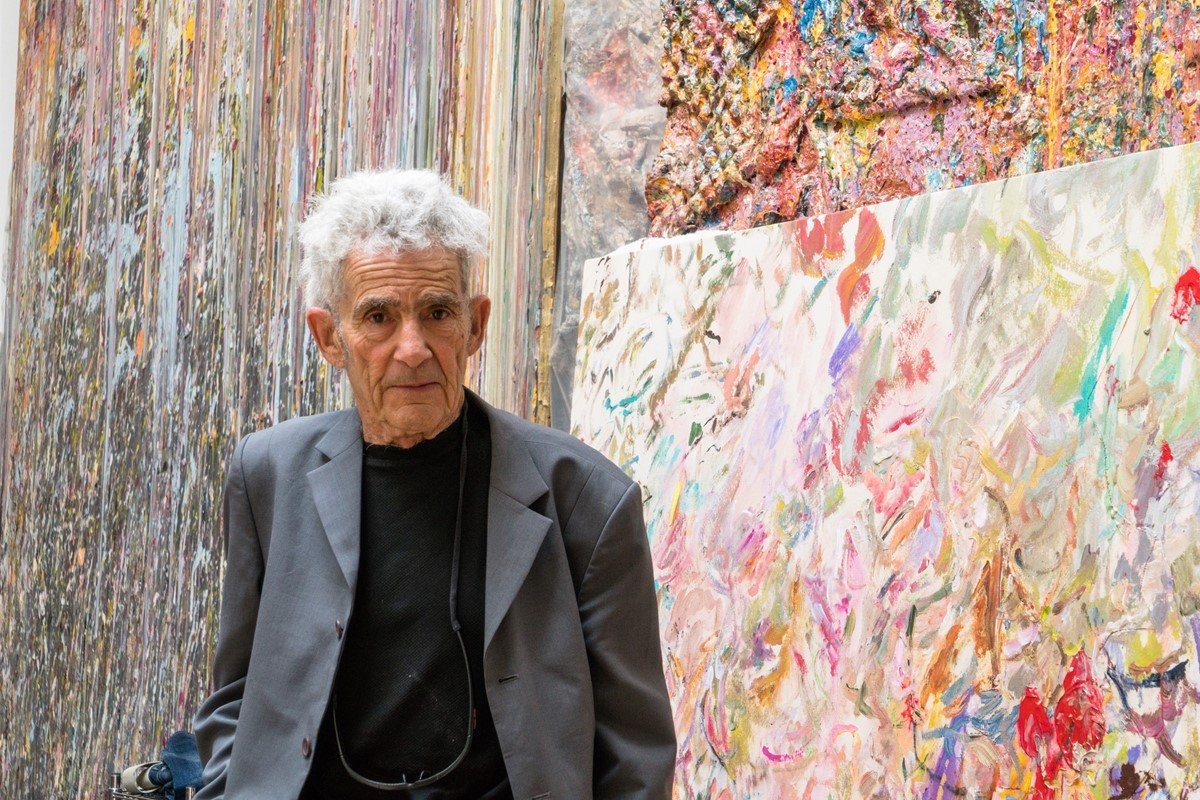 Life lessons from radical and uncompromising artist Larry Poons