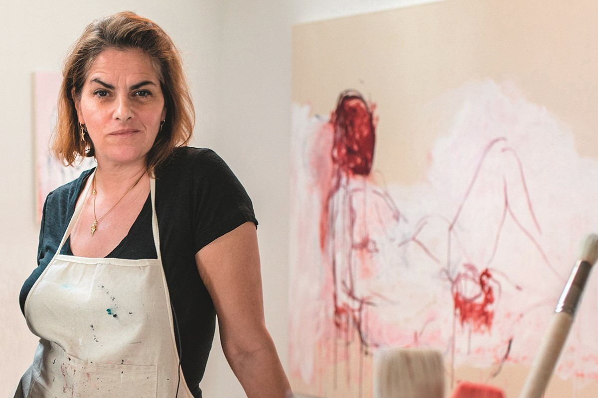 Tracey Emin has 'never been so happy' following 'dramatic' cancer surgery
