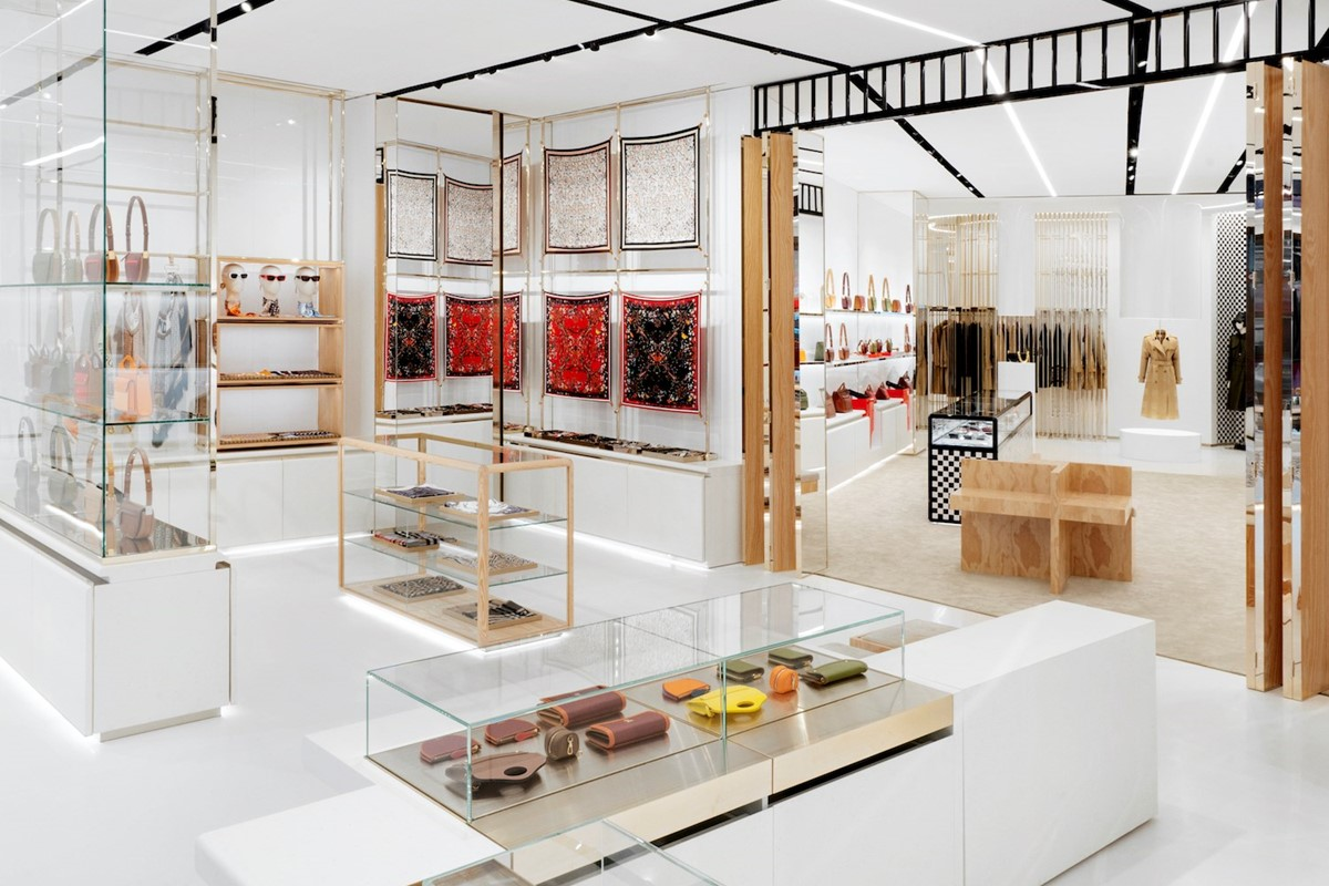 Everything to know about Burberry's slick new Sloane Street store