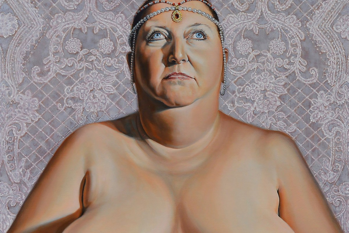 Why this artist asked 60 other artists to make nude portraits of her