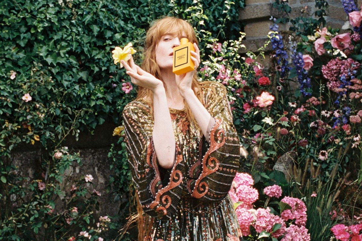 Go behind-the-scenes with Florence Welch and Jodie Turner-Smith for Gucci