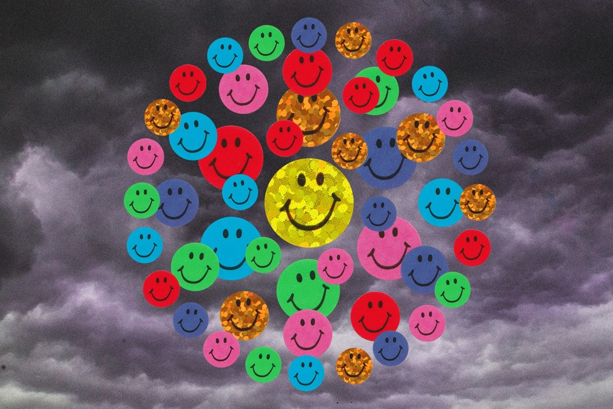 How 'toxic positivity' took over the internet
