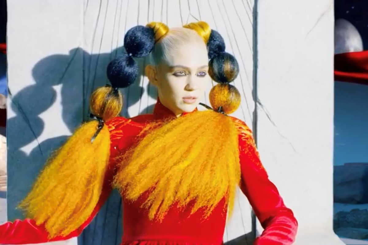 Grimes releases a new song and video, 'Delete Forever'
