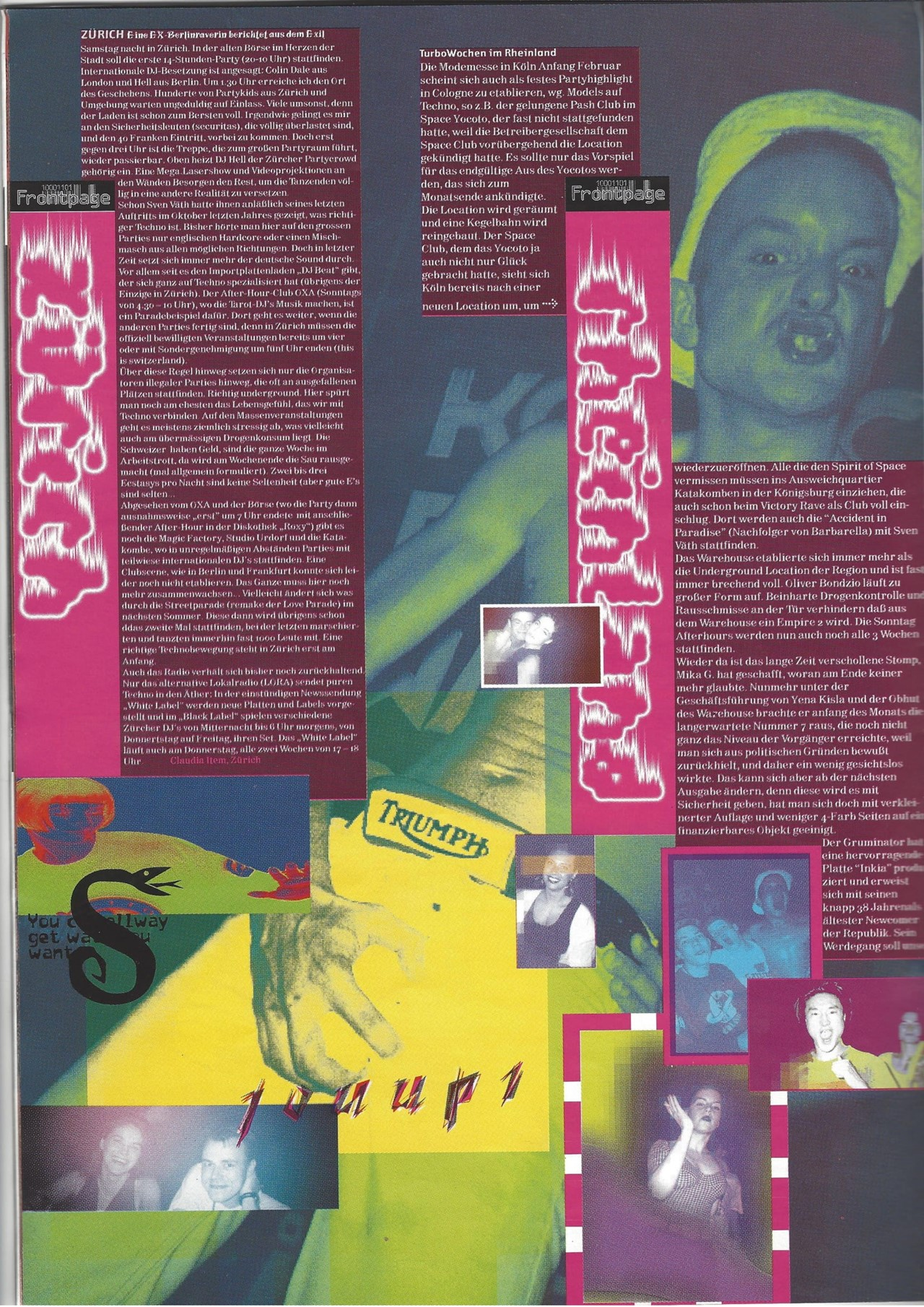 The 90s techno magazine that shaped German rave culture | Dazed