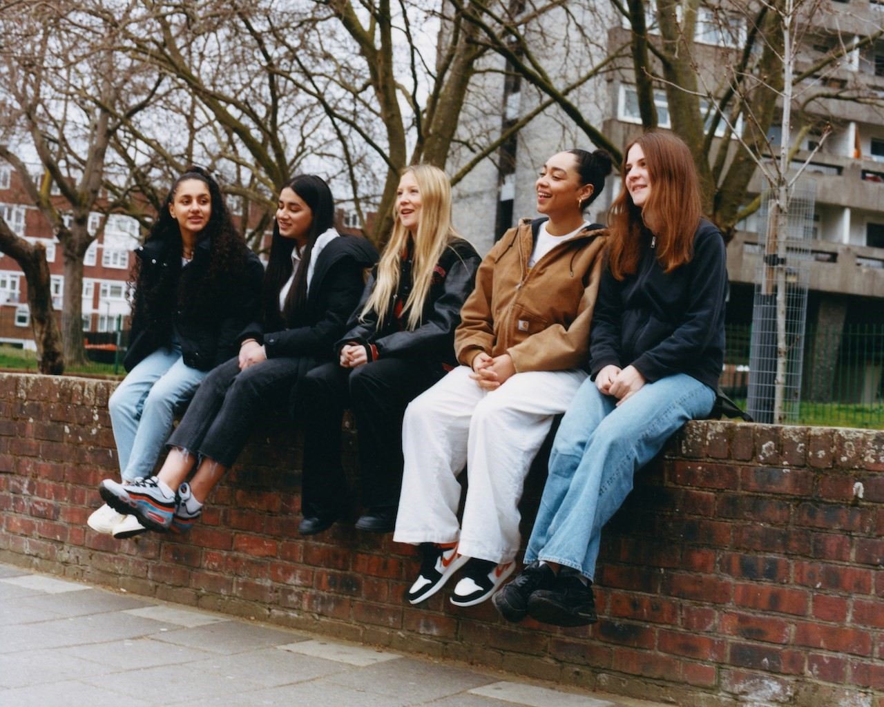 How do London's teenage girls see the future of the city? 1