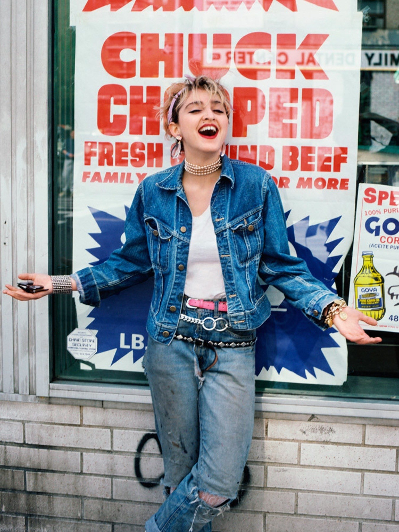 Candid Photos Of Pre Fame Madonna In 80s New York