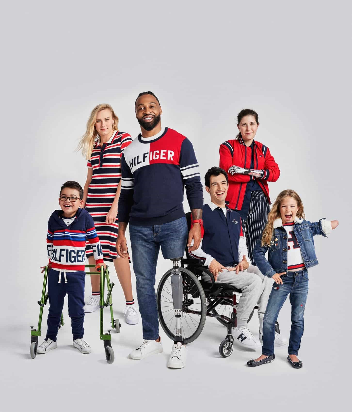 bade72f91 Tommy Hilfiger s new campaign celebrates strength in disability