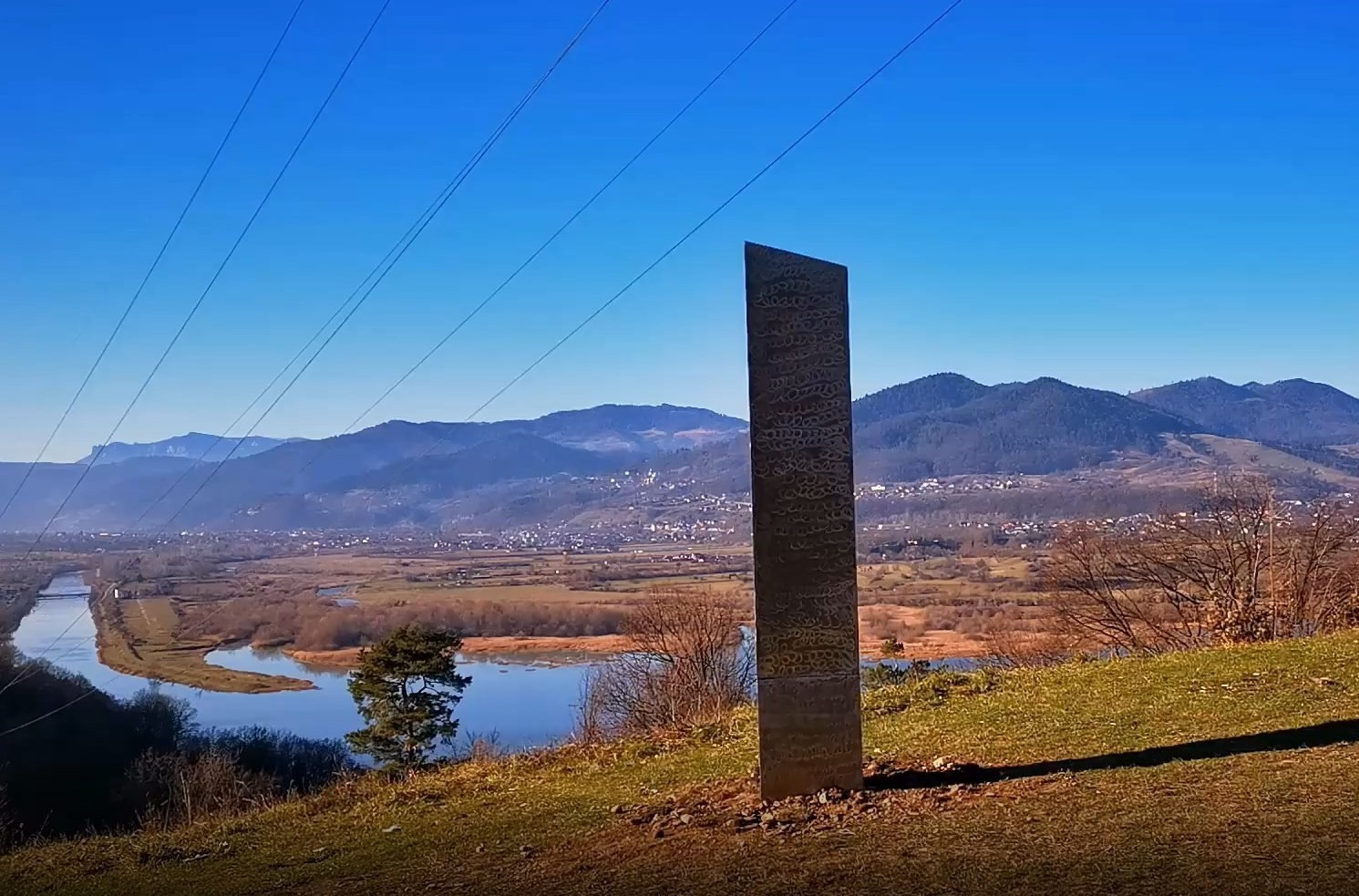 Aliens A Marketing Ploy Or An Artist Another Monolith Appears In Romania Dazed