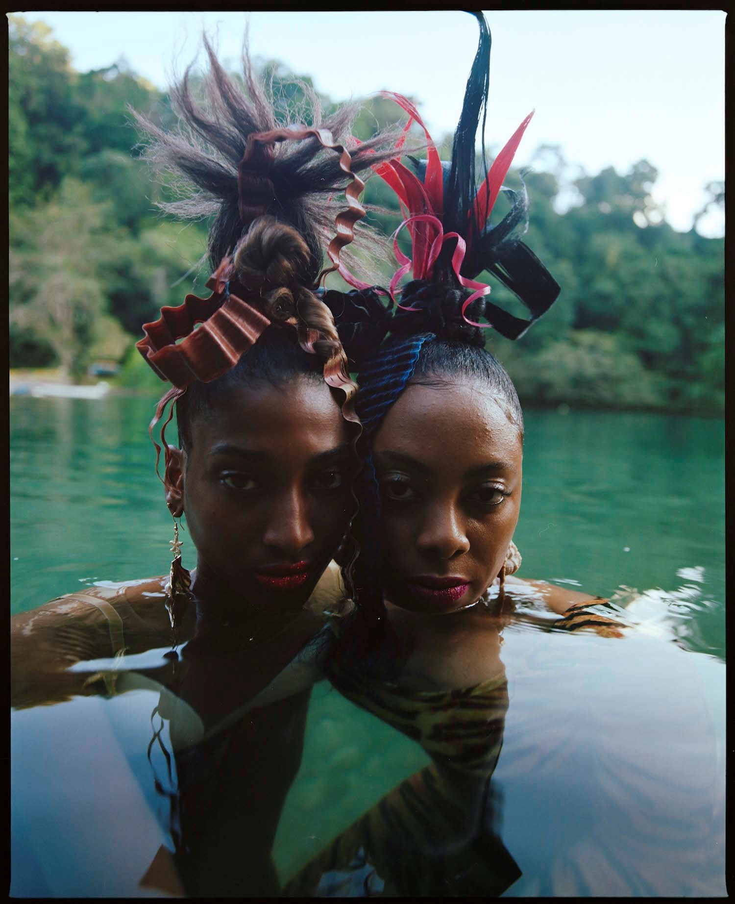 Nadine Ijewere & Jawara on Tallawah, the exhibition celebrating black hair