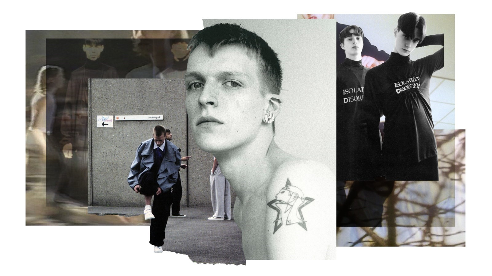 Raf Simons A to Z collages
