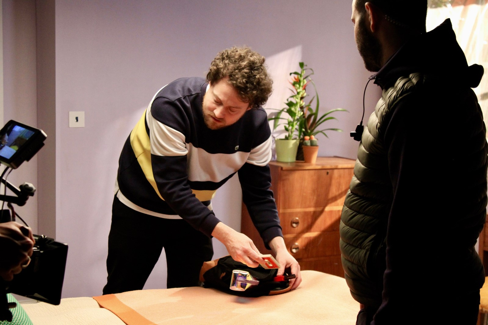 Behind the scenes of Metronomy's 'Lately' video