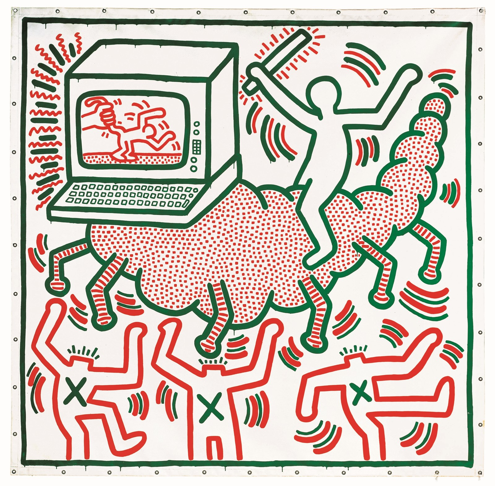 Keith Haring, Tate Liverpool 2019