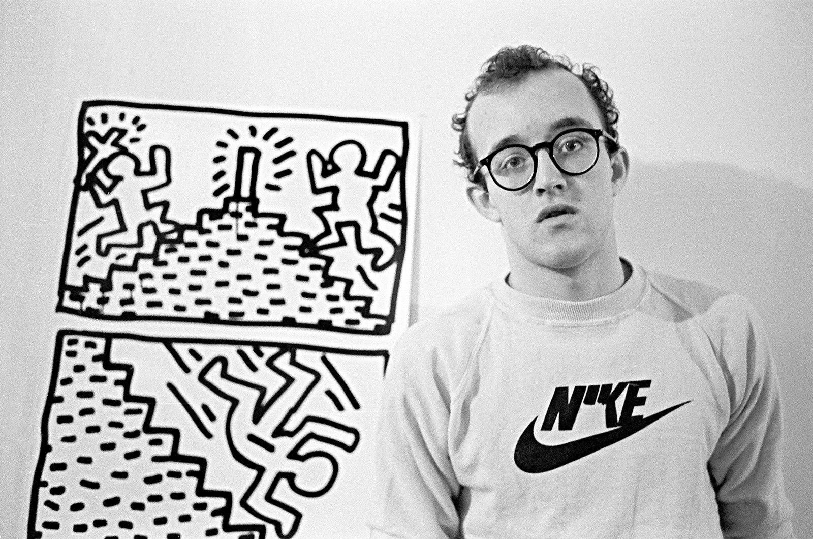 Keith Haring Drawing Series