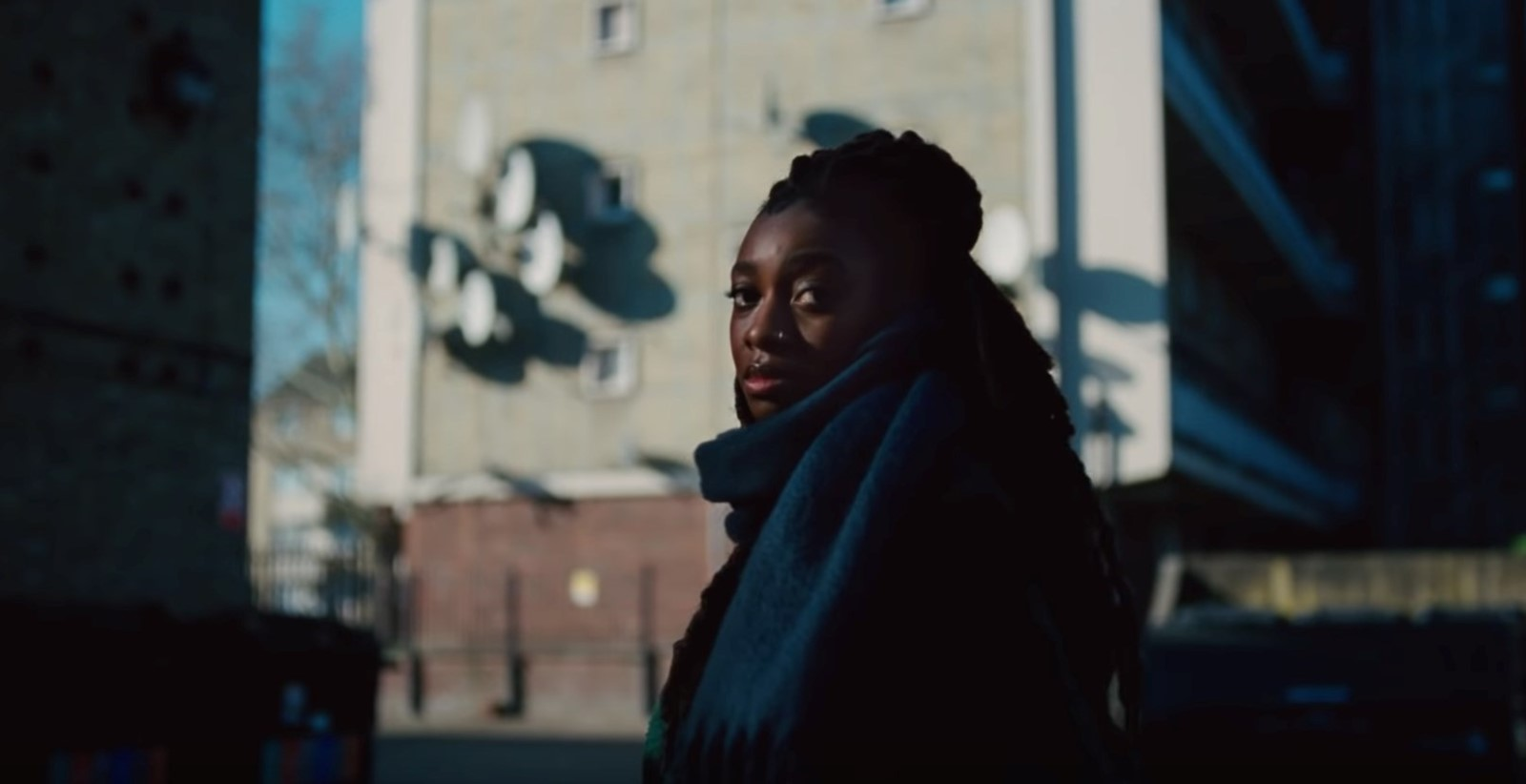 Little Simz in Top Boy