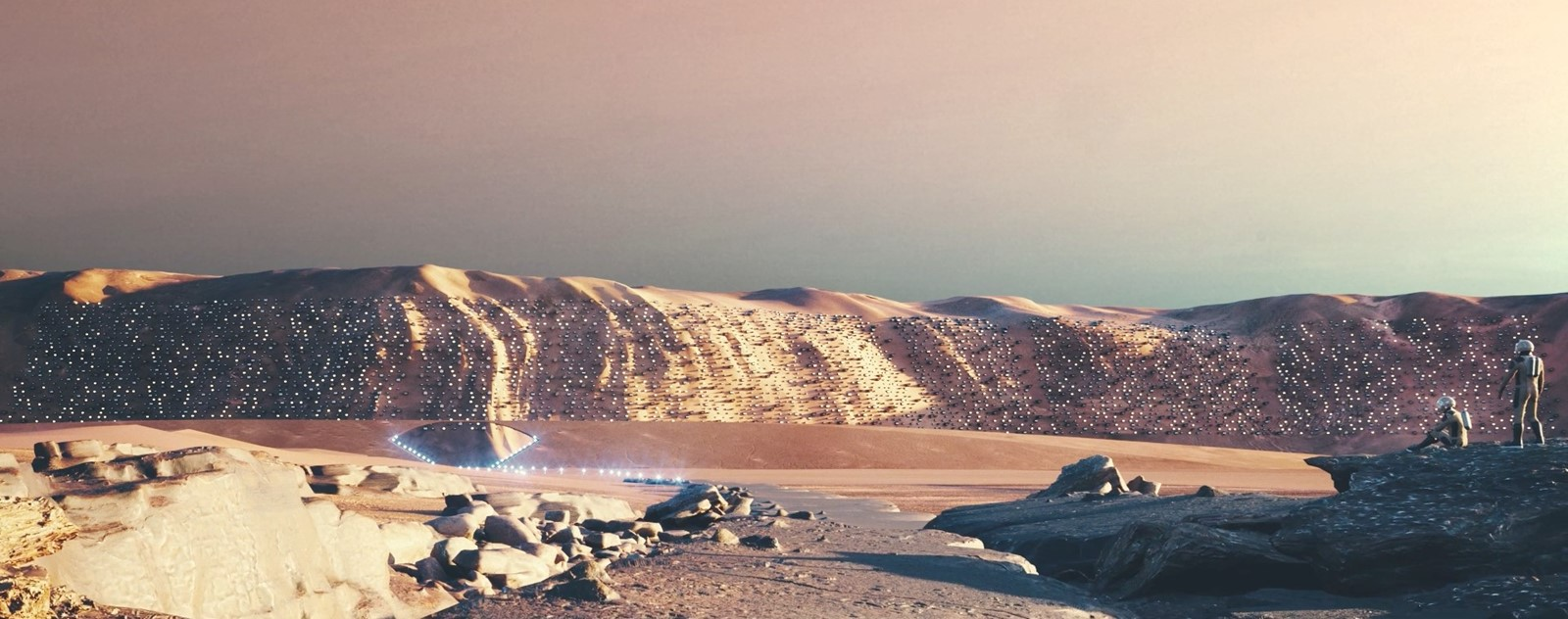 Nüwa, the first self-sustainable city on Mars 2