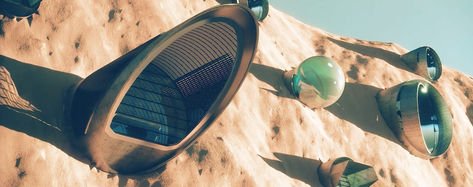 Nüwa, the first self-sustainable city on Mars 4