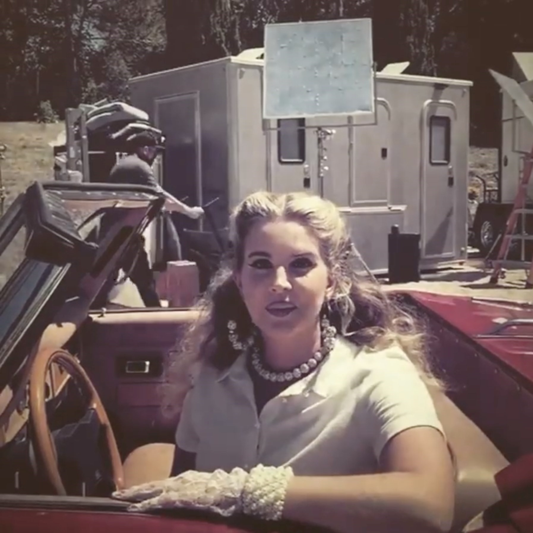 Lana Del Rey Teases The Video Set For Chemtrails Over The Country Club Dazed