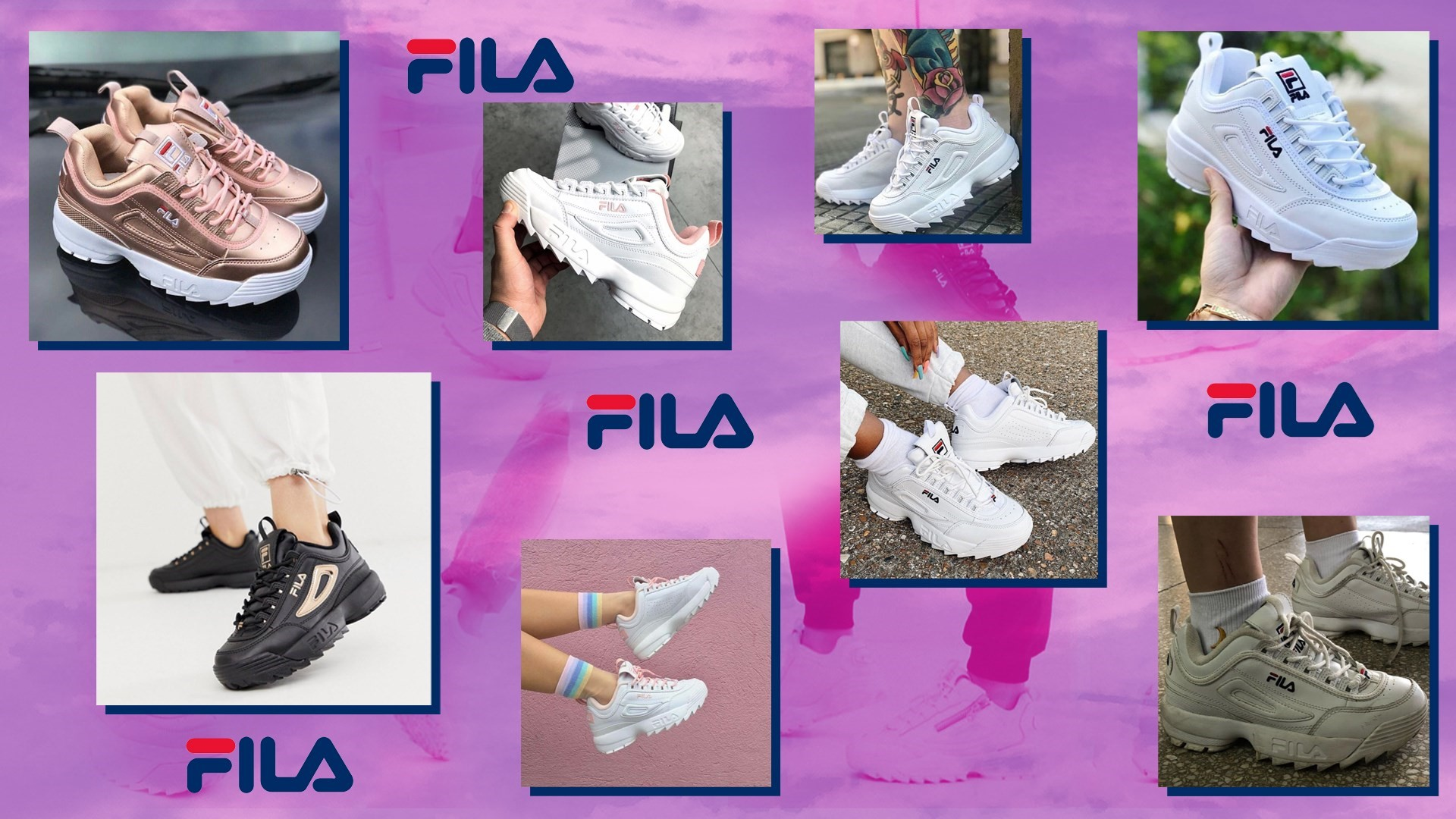 The story of the Fila Disruptor II, the internet's most