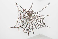 Reena Saini Kallat Untitled Cobweb (knots and crossings) 5