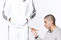 Dazed, DIS takeover Adidas the art school tracksuit 0