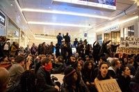 #ICantBreathe Eric Garner protests Westfield London 4