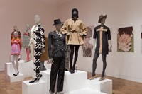 Installation view of The Total Look: The Creative 0