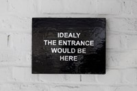 Laure Prouvost, Ideally the entrance would be here 1