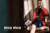 Imogen Poots for Miu Miu spring/summer 2015 campaign 0