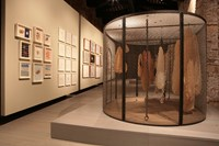 Installation view, 'Louise Bourgeois The Fabric Wo 1