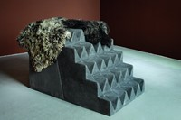 P197 Nemes GATE (STAIRS) 2009 concrete sheepskin & 1