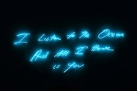 Tracey Emin I Listen to the Ocean and All 2