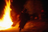 12 BOUJELOUD RUNNING WITH FIRE, JOUJOUKA 2013
