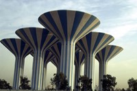 Kuwait water towers 3