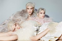 All clothes by Alexander McQueen, Photography Rich 4
