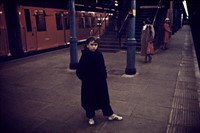 Tube little girl on platform new adjA-1 19