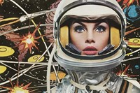 Jean Shrimpton as a Galactic Beauty for Bazaar, 19 7