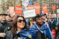 The Put it to the People march, London 5