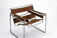 4. Marcel Breuer, Club Chair, 1925-26. Tubular 4