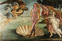Audrey Wollen The Birth of Venus 3